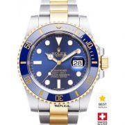 Rolex-Submariner-Blue-Ceramic-2tone-Date